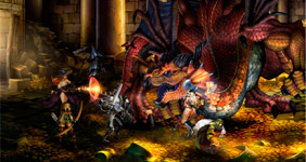 Игра Dragon's Crown поступит в продажу в США 6-го августа