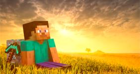 Геймер, решивший дойти до края Minecraft